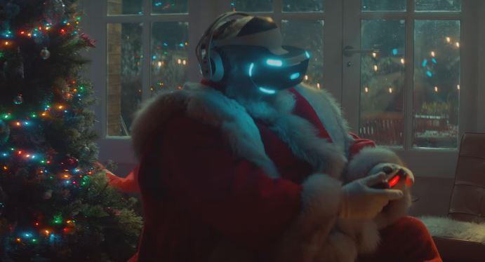 Pubblicità PlayStation augura Buon Natale con Foto - Testimonial Spot Pubblicitario PlayStation 2017