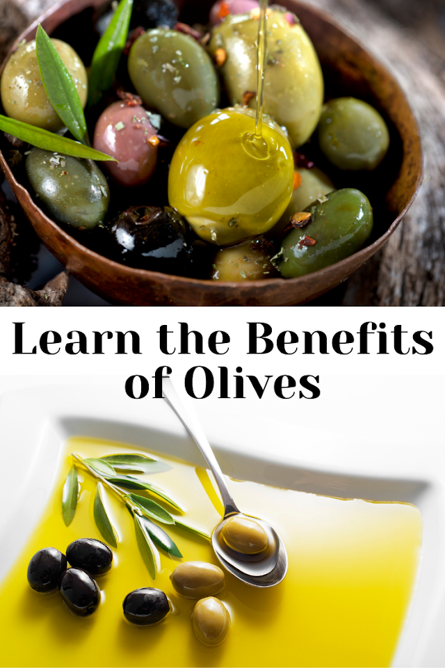 Learn the benefits of olives