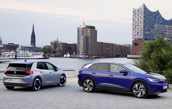 Volkswagen ID.3 y Volkswagen ID.4