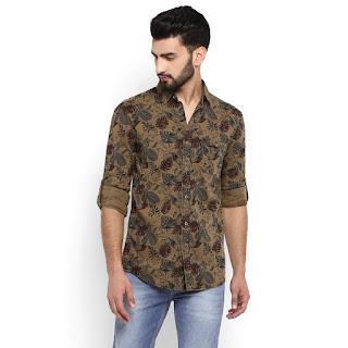 Ismart shankar ram shirt