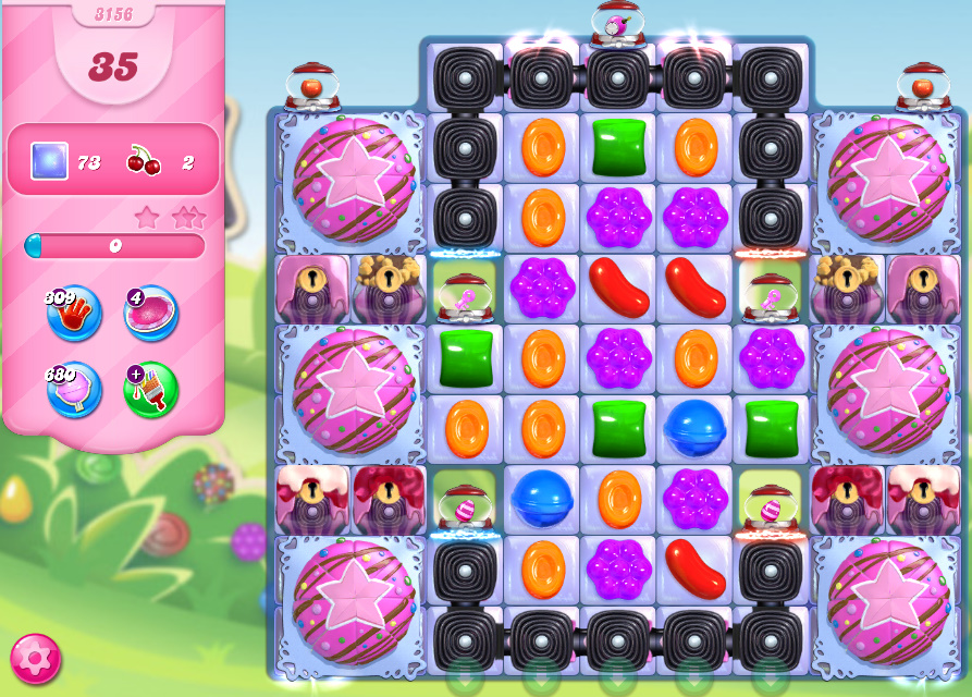 Candy Crush Saga level 3156