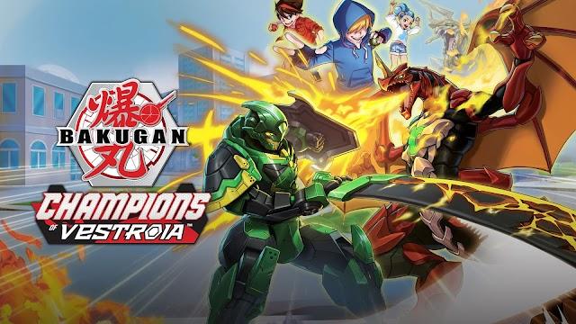 Bakugan: Campeones de Vestroia muestra su tráiler de lanzamiento
