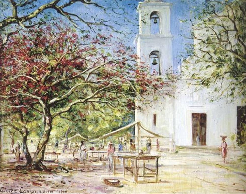 Cuadros modernos pinturas y dibujos pintor cuadros de - Cuadros estilo colonial ...