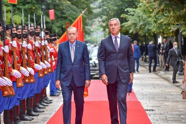 MIŠLJENJE: Erdogan u Crnoj Gori: Šta je nama Turska?