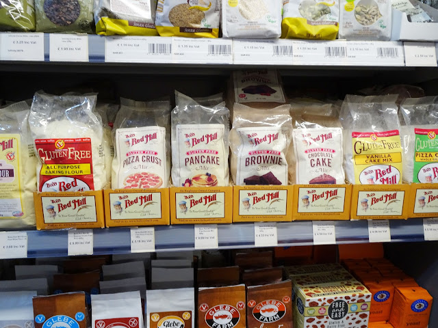 A range of gluten-free dough and baking mixes