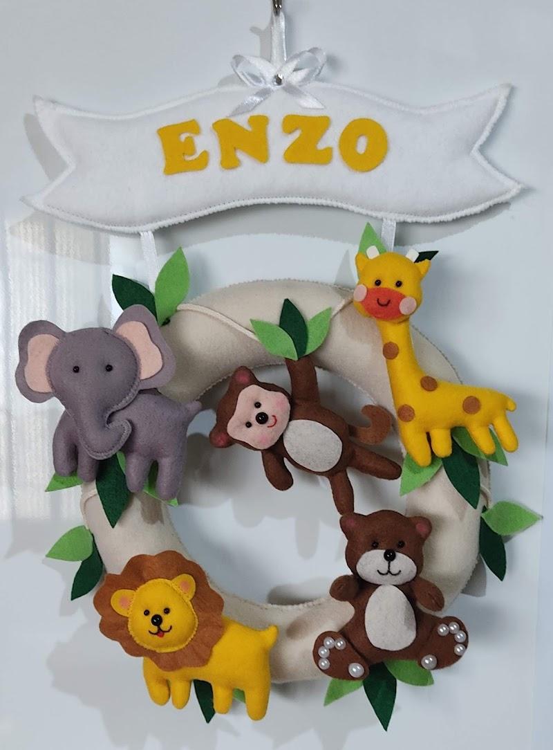 Porta de Maternidade  Safari