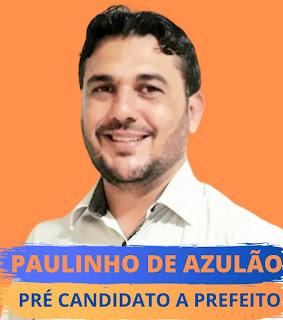 Paulinho de Azulão anuncia que é pré-candidato à prefeito