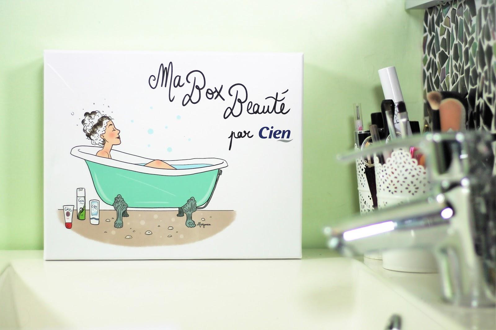 box beauté soin cosmétique cien lidl discount qualité cheveux hair shampooing après shampooing laque mousse coiffante salle de bain home tour les gommettes de melo gomette melogommette avis top flop malika ménard