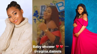Regina Daniels Dances Excitedly