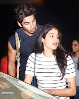 Jhanvi kapoor with her Hero ~  Exclusive Galleries 008.jpg