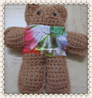 amigurumi, crochet free teddy bear pattern