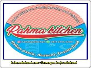 Lowongan Kerja Rahma Kitchen Sukabumi