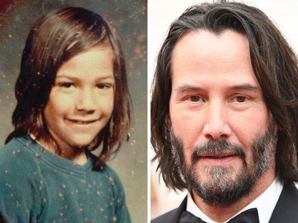 Keanu Reeves joven