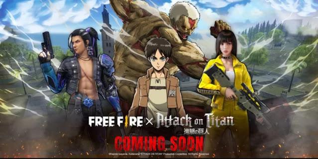 Free fire attack on titan