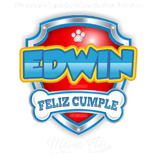 Logo de Paw Patrol: Edwin