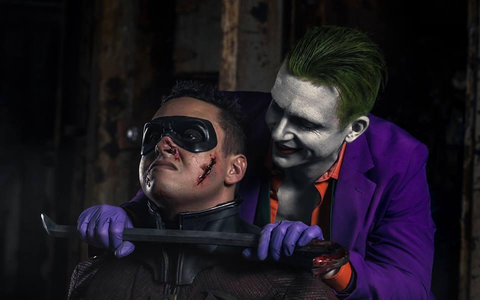 Images: The Joker Kills Robin In Gruesome Batman V Superman Cosplay Photoshoot