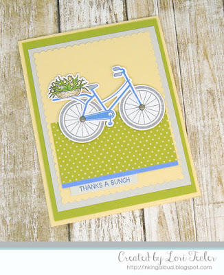 Thanks a Bunch card-designed by Lori Tecler/Inking Aloud-stamps and dies from SugarPea Designs