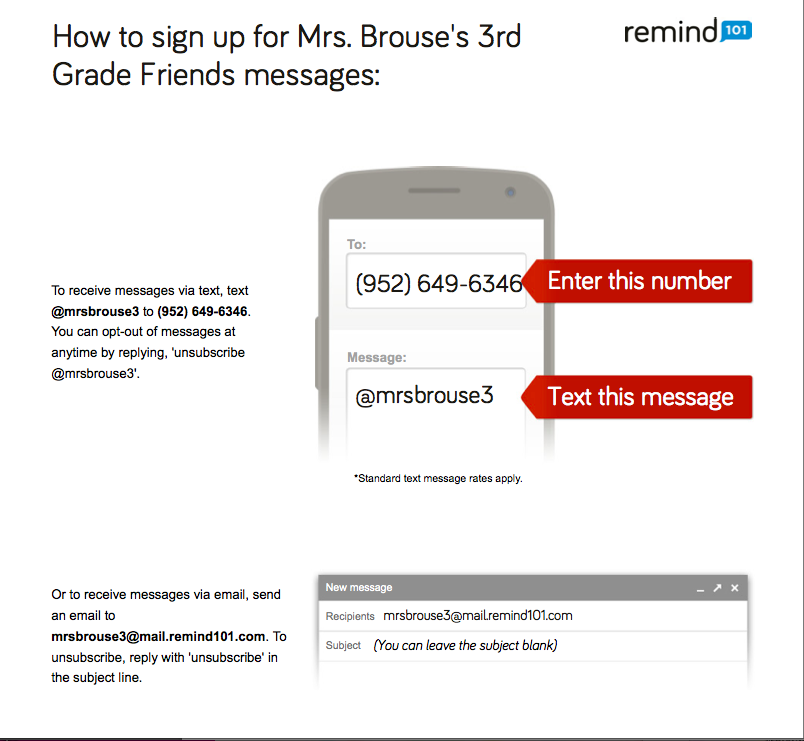 How to Sign up for Remind 101
