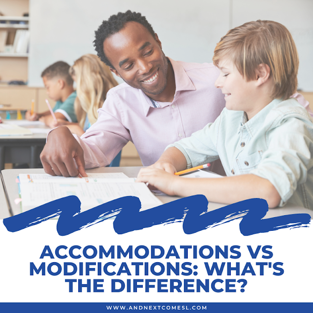 Modifications vs accommodations: what's the difference between the two?