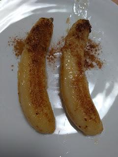 グリーンカレーと焼きバナナでタイ気分♪