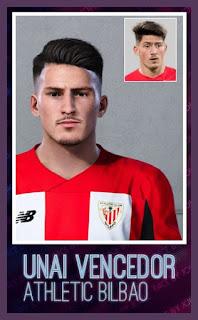 PES 2020 Faces Unai Vencedor by Jovic