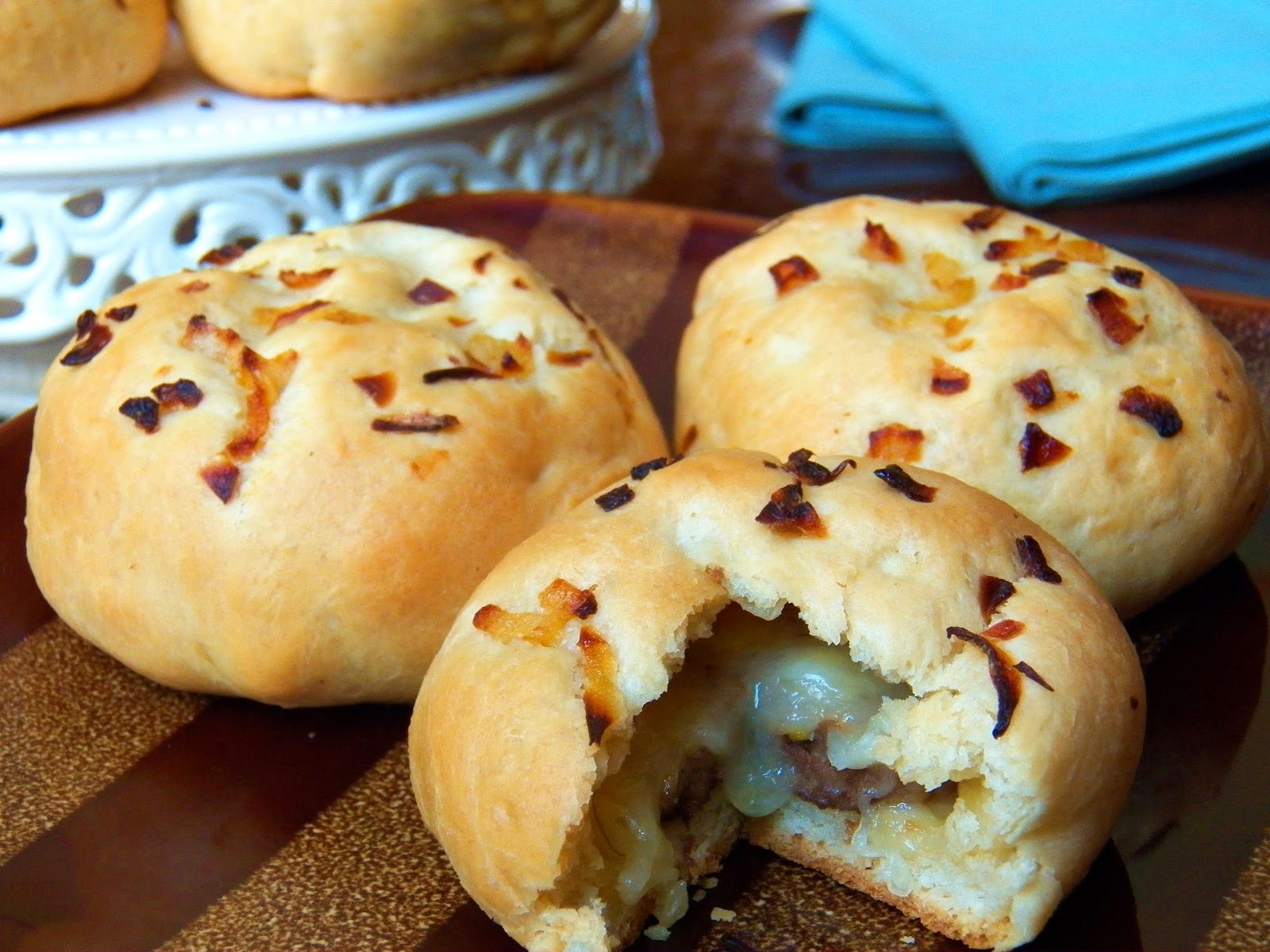 Cheeseburger Stuffed Buns