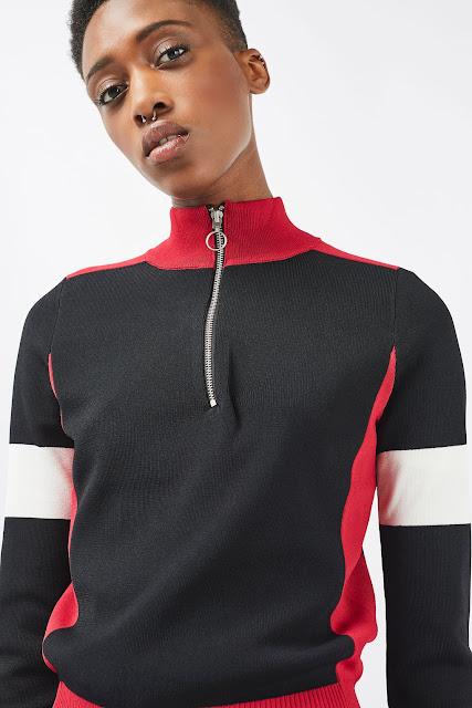 zip up long sleeve top