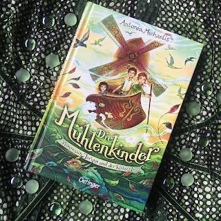 """""""Die Mühlenkinder: Prinzessin Jorunn und der Wassertroll"""" von Antonia Michaelis, illustriert von Claudia Carls, erschienen im Oetinger Verlag, Rezension auf Kinderbuchblog Familienbücherei"""