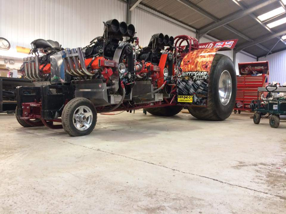 Tractor Pulling Engines : Tractor pulling news pullingworld new engines for