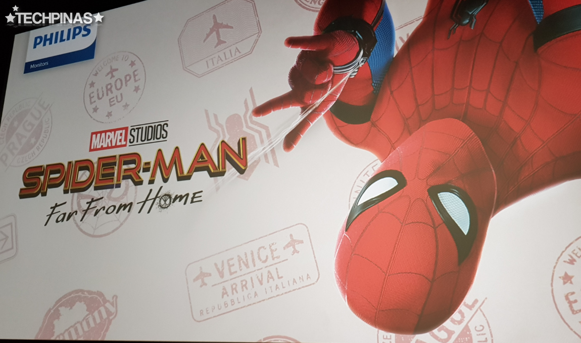 Philips Monitors Marvel Studios Spider-Man Far From Home
