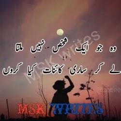 Best Sad Urdu Poetry For Lovers
