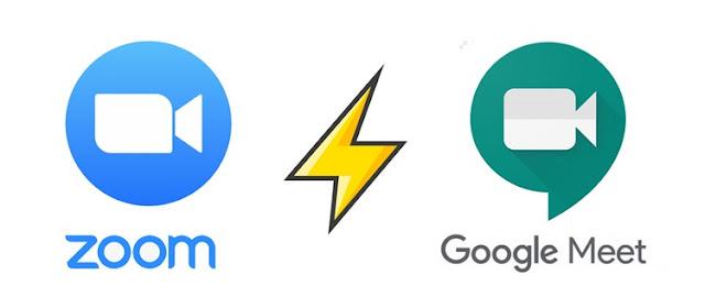 Zoom vs Google Meet: cuál es mejor (plan gratuito)