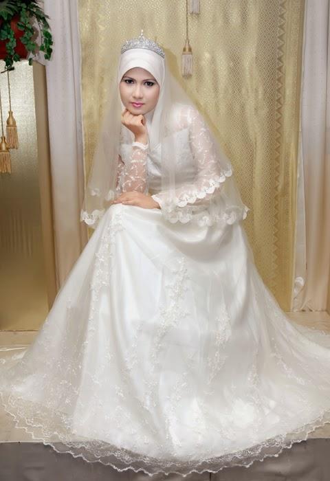 Contoh Foto Pre Wedding Muslimah 2017