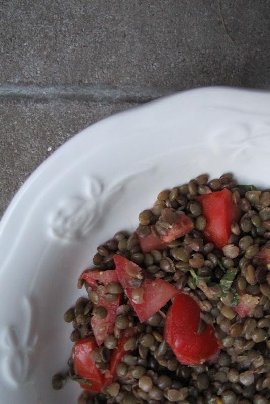 Recept: zomerse linzensalade