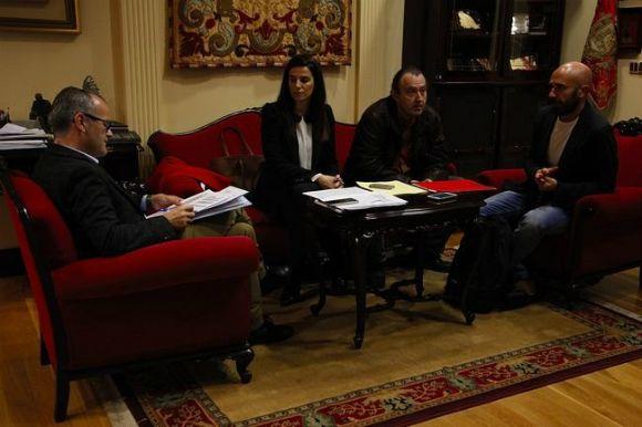 Reunión co Alcalde de Ourense