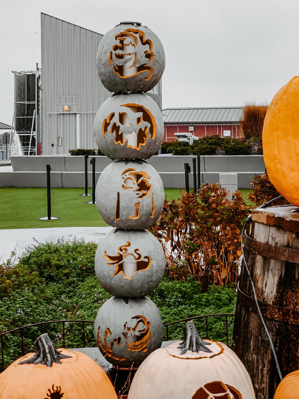 Nightmare Before Christmas Carved Pumpkins