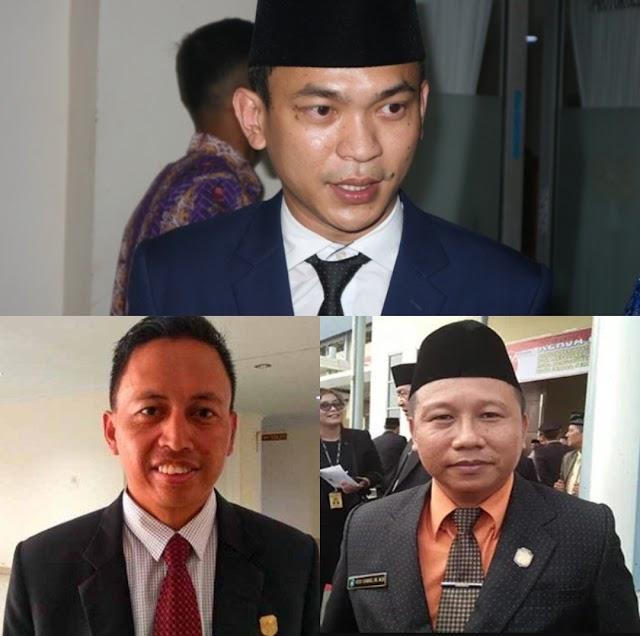 Para Pimpinan DPRD Sintang Berikan Apresiasi Acara Debat dan Kepada Paslon