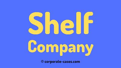 shelf company meaning