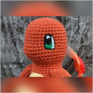 patron amigurumi Charmander crochet y amigurumis