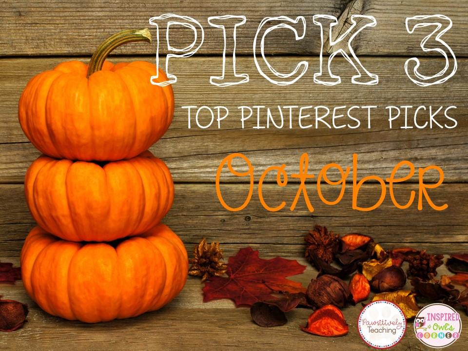 Great Pinterest Finds for October ~ October Pick 3
