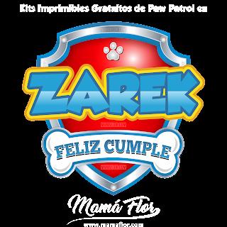 Logo de Paw Patrol: ZAREK