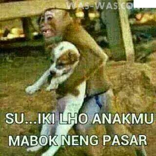 Gambar lucu Bahasa Jawa 4