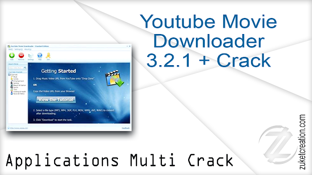 Youtube Movie Downloader 3.2.1 + Crack