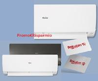 Concorso #haierlasceltanaturale  : vinci gratis condizionatori e card Rakuten TV
