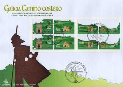 Sobre PDC Madrid de la serie dedicada al Camino de Santiago Costero