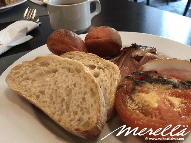 Tallink Hotel Riga aamiainen