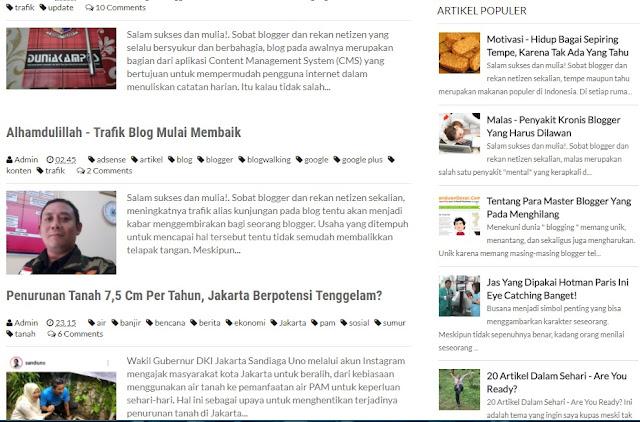 90 Persen Artikel Populer, Saya Ketik Memakai Ponsel