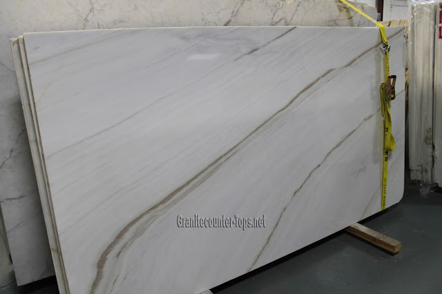 Bianco Lasa polishing White Marble Slab