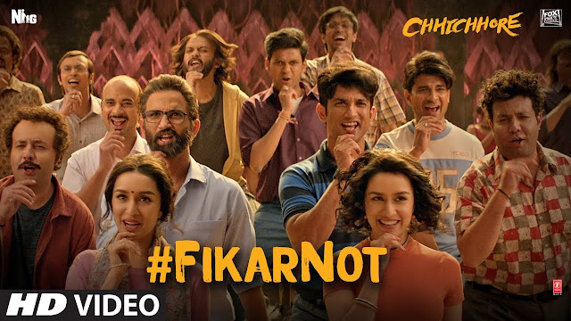 FIKAR NOT LYRICS - CHHICHHORE