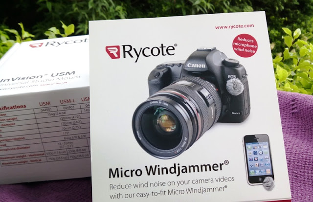 Rycote Micro Windjammers Reduces Internal Microphone Current Of Air Noise!